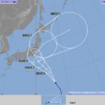 台風13号<2018年>進路予想。東北への影響は?関東・東海に上陸の恐れ。